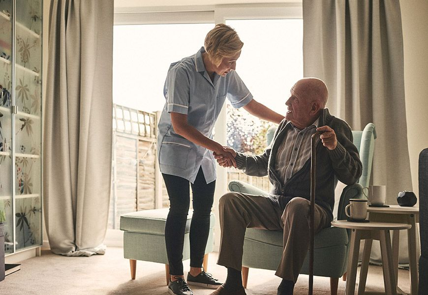 Caregivers for seniors needing home care assistance in Pittsburgh, PA